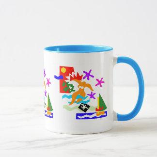 Summer swimmer - Mug