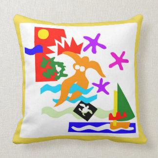 Summer swimmer - Pillow