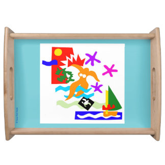 Summer swimmer - Serving tray
