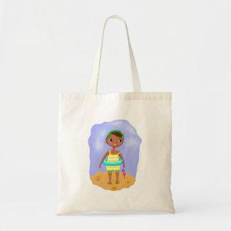 Summer Swimmer Tote Bag