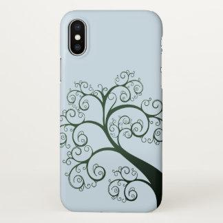 Summer Swirly Tree Hugger | iPhone X Case