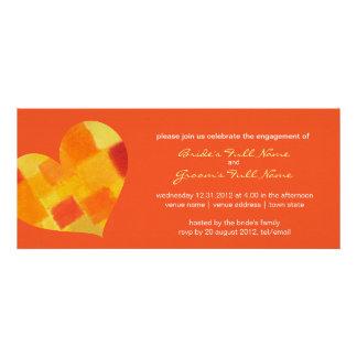 Summer tango Engagement Invitation