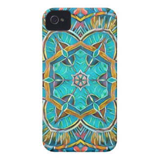 Summer Theme Kaleidoscope iPhone 4 Case-Mate Case