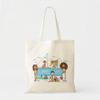 Summer Time Beach Bag Small Tote bag