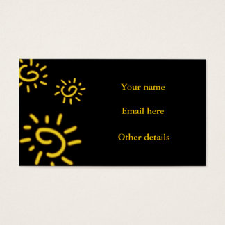 Summer Time Business Card
