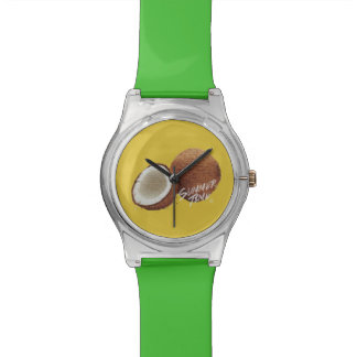 Summer time- coconut watch