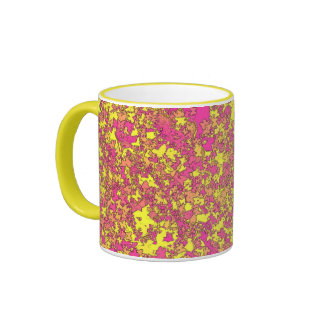 """""""Summer time"""" - cup/coffee cup Ringer Coffee Mug"""