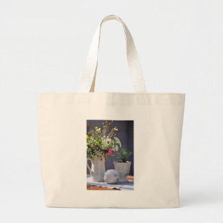 Summer Time Large Tote Bag