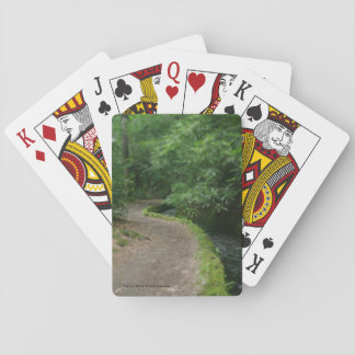 Summer Time Path Poker Deck
