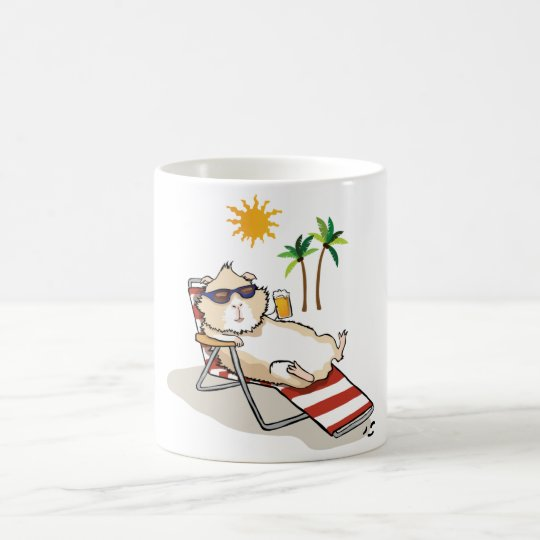 Summer Time Piggy Coffee Mug
