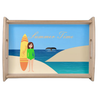 Summer Time Serving Tray
