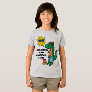 Summer Time T-Rex T-Shirt