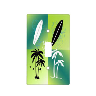 Summer Time Theme Light Switch Cover