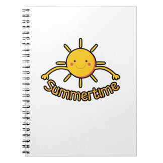 Summer Time Vacation  Kid Boy Girl Funny Gift Notebook