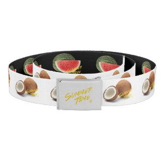 Summer time- watermelon - coconut belt