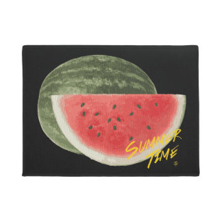 Summer time- watermelon doormat
