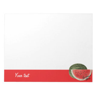 Summer time- watermelon notepad