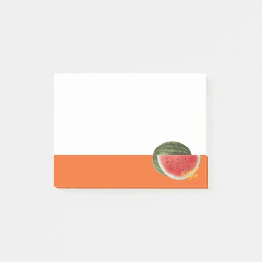 Summer time- watermelon post-it® notes