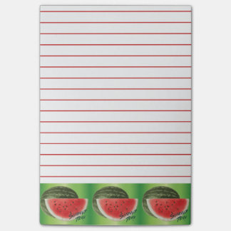 Summer time- watermelon post-it notes