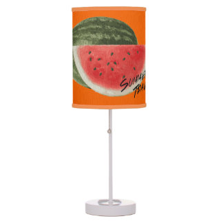 Summer time- watermelon table lamp