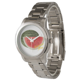 Summer time- watermelon watches