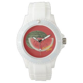 Summer time- watermelon wrist watches