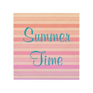 Summer Time Wood Wall Art