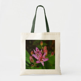 Summer Toad Lily Tote Bag