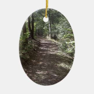 Summer Trail Ceramic Ornament