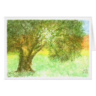 Summer Tree Aleph Card