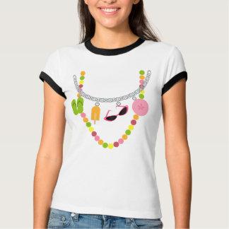 Summer Trompe L'Oeil Necklace Shirt