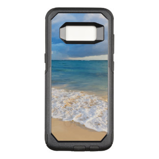 Summer Tropical Beach Scenic OtterBox Commuter Samsung Galaxy S8 Case