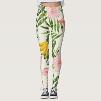 Summer Tropical Leggings