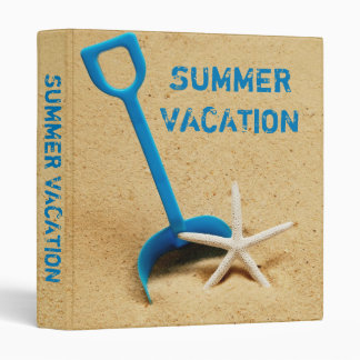 "Summer Vacation 1"" Photo Album Vinyl Binders"