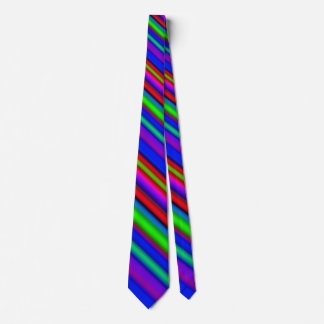 Summer Vacation Rainbow Tie