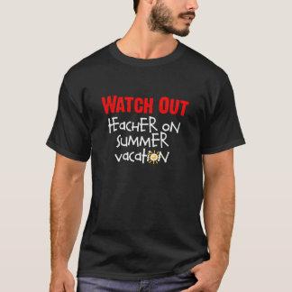 Summer Vacation Teacher T-Shirt