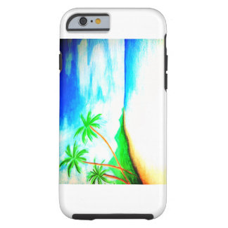 Summer Vacation Tough iPhone 6 Case
