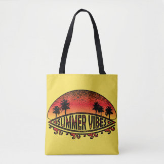 Summer Vibes - Endless Sunsets Tote Bag