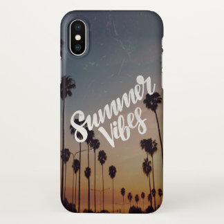 Summer Vibes iPhone X Case