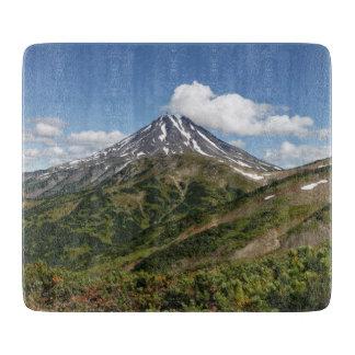 Summer volcano landscape boards