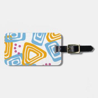 Summer Watercolor Bubbles Bag Tag