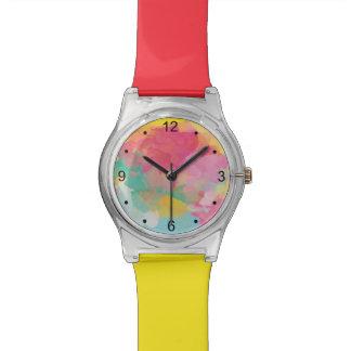 summer watercolor watch