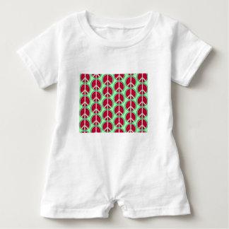 Summer Watermelon Baby Romper