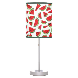 Summer Watermelon Fruit Table Lamp