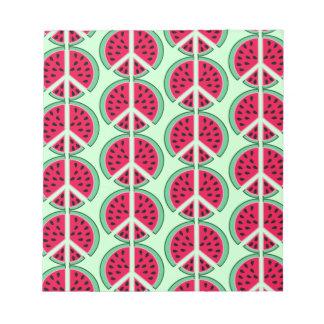 Summer Watermelon Notepad