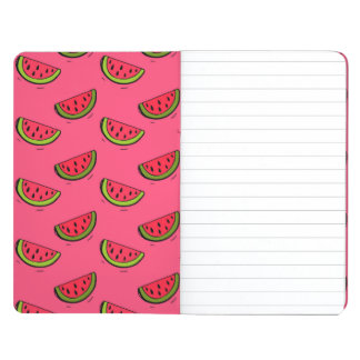Summer Watermelon on Pink Pattern Journal