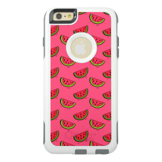 Summer Watermelon on Pink Pattern OtterBox iPhone 6/6s Plus Case