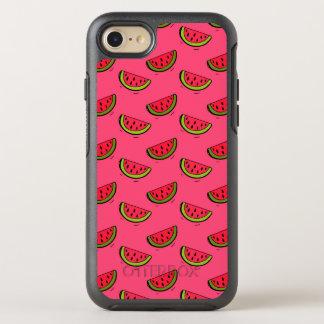 Summer Watermelon on Pink Pattern OtterBox Symmetry iPhone 8/7 Case