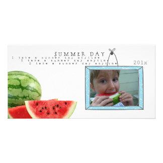 summer watermelon Photo cards