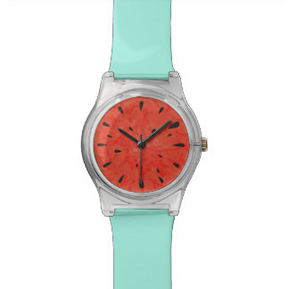 Summer watermelon watch design